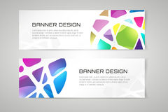 Vector banner infographic template. Processes Royalty Free Stock Images