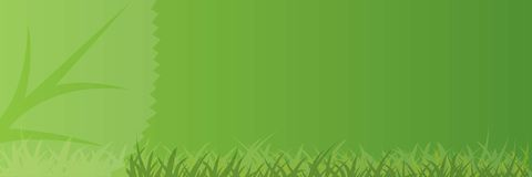 Vector banner natural. Vector banner for the agricultural industry, love the environment, health, medicines, etc. size 1x3 meter Stock Photography