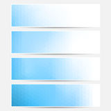 Vector banner set. Stock Photo