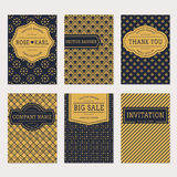 Vector banner set. Stock Images