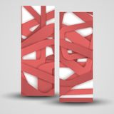 Vector banner set for your design Royalty Free Stock Photo