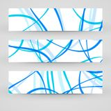 Vector banner set for your design Royalty Free Stock Photography