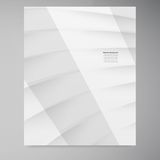 Vector banner square card 12.09.13. Vector abstract background. White line and waves Vector Illustration