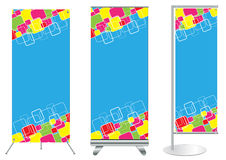 Vector banner stand display Stock Photo
