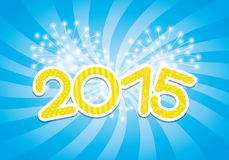 Vector banner. 2015 year. Stock Photos