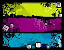 Vector bannerillustratie Royalty-vrije Stock Fotografie