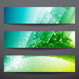 Vector banners Stock Image