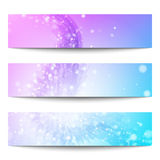 Vector banners. Abstract vector banners. Business banner. Banner background. Web banner. Technology background. Business card. Technology abstract. Bright Royalty Free Stock Photos