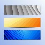 Vector banners Stock Afbeeldingen