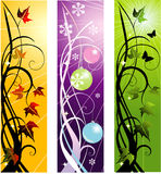 Vector banners Stock Photos