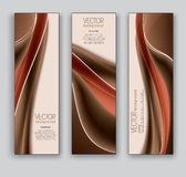Vector Banners. Abstract Eps10 Backgrounds. Stock Photo