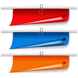 vector banners for advertising text Stock Images
