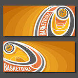 Vector banners for Basketball royalty free illustration