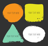 Vector banners. Design elements. Stock Photography