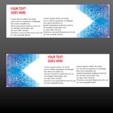 Vector Banners, headers web banners Royalty Free Stock Images