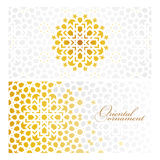 Vector banners in oriental style Royalty Free Stock Photo