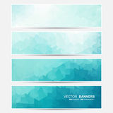 Vector banners set. Royalty Free Stock Photography