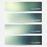 Vector banners set. Stock Photos