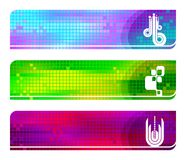Vector banners with simbol Royalty Free Stock Image