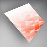 Vector banners and squares. Color set Royalty Free Stock Image