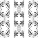 Vector Barok naadloos patroon Stock Foto's