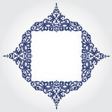 Vector baroque frame in Victorian style. Stock Photo