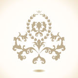 Vector baroque Royalty Free Stock Photography