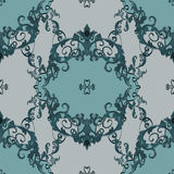 Vector baroque. Vector illustration. luxury texture for wallpapers, fabric patterns Baroque, Damask seamless floral pattern Royalty Free Stock Images