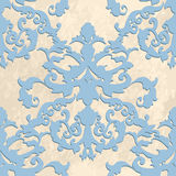 Vector baroque. Vector illustration. luxury texture for wallpapers, fabric patterns Baroque, Damask seamless floral pattern Royalty Free Stock Photo