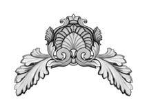 Vector baroque Stock Image