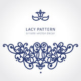Vector baroque ornament in east style. Stock Photography