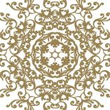 Vector baroque ornament in Victorian style. Ornate element for d. Esign royalty free illustration