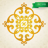 Vector baroque ornament in Victorian style. Ornate element for design. Toolkit for designer. It can be used for decorating of wedding invitations, greeting Stock Images