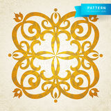 Vector baroque ornament in Victorian style. Ornate element for design. Toolkit for designer. It can be used for decorating of wedding invitations, greeting Royalty Free Stock Image