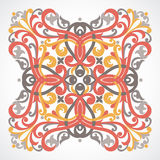 Vector baroque ornament in Victorian style. Ornate element for design. Toolkit for designer. It can be used for decorating of wedding invitations, greeting Royalty Free Stock Photography