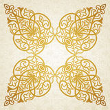 Vector baroque ornament in Victorian style. Ornate element for design. Toolkit for designer. It can be used for decorating of wedding invitations, greeting Stock Photos