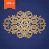 Vector baroque ornament in Victorian style. Stock Photography