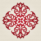 Vector baroque ornament in Victorian style. Royalty Free Stock Image