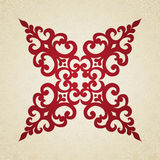 Vector baroque ornament in Victorian style. Royalty Free Stock Photos