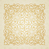 Vector baroque ornament in Victorian style. Royalty Free Stock Images