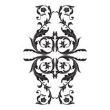 Vector baroque ornament in victorian style royalty free stock image