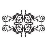 Vector baroque ornament in victorian style Stock Photos