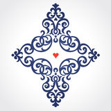 Vector baroque pattern in Victorian style. Stock Photography
