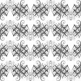 Vector Baroque seamless pattern Stock Photography