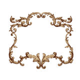 Vector baroque of vintage elements for design. Stock Image