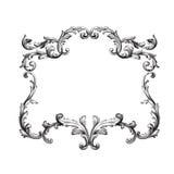 Vector baroque of vintage elements for design. Stock Photos