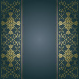 Vector baroque,vintage flowers background Stock Photo