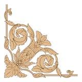 Vector barroco clásico del ornamento Fotografía de archivo libre de regalías