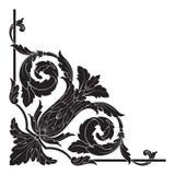 Vector barroco clásico del ornamento Imagen de archivo libre de regalías