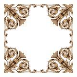 Vector barroco clásico del ornamento Foto de archivo libre de regalías